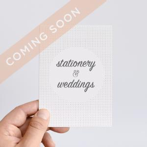 Meet Vanessa Stationery and Weddings